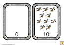 Number Bonds To 10 Dragons Match Easy Template
