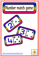 Number Match Game Template