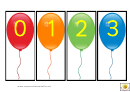 Balloon Number Template