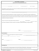Dd Form 2716-1 - Dod Certificate Of Supervised Release
