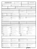Dd Form 2526 - Case Abstract For Malpractice Claims