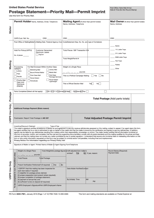 picture about Ps Form 2976 Printable known as 170 Usps Types And Templates cost-free in direction of down load within just PDF