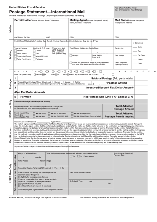 photo about Ps Form 2976 Printable named 170 Usps Kinds And Templates no cost in direction of down load inside of PDF