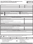 Form Soc 813 - Cash Assistance Program For Immigrants (capi) - Indigence Exception Determination