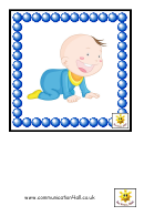 People Of Different Age Flash Card Template