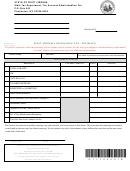 Form Wv/sev-400 - West Virginia Severance Tax - Estimate