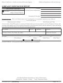 Form Rfa 9099 - Complaint Investigation Report