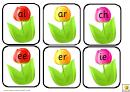 Tulip Style Phonic Charts