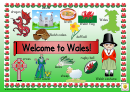 Welcome To Wales Classroom Poster Template