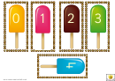 Lollies 0-20 Number Template Set