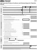 Form M11t - Insurance Premium Tax Return And Firetown Report For Township Mutual - 2017