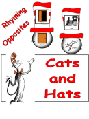 Cats And Hats Kids Activity Sheets