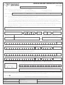Form Mv-65 - Vehicle Escort Driver Application