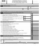 Form 8328 - Carryforward Election Of Unused Private Activity Bond Volume Cap