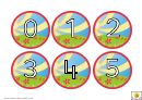 Smiling Sun Number Chart