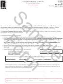 Form Dr-18rs Draft - Amusement Machine Certificate Renewal Application Second Notice