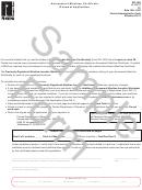 Form Dr-18r Draft - Amusement Machine Certificate Renewal Application