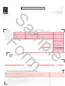 Form Dr-7 Draft - Consolidated Sales And Use Tax Return