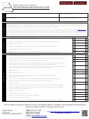 Form Mo-shc - Self-employed Health Insurance Tax Credit - 2014