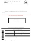 Form Wv/sev-400v - Additional Tax On The Severance Of Natural Resources Estimate