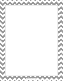 Blank Stationery Without Lines Grey Style Writing Paper
