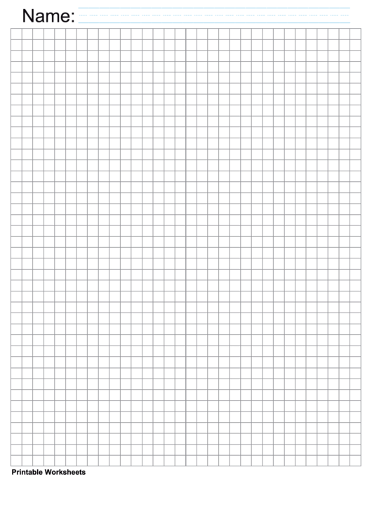 Gray Quarter Inch Graph Paper Printable pdf