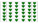 Green Heart Template