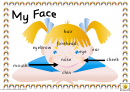 My Face Poster Template - Girl