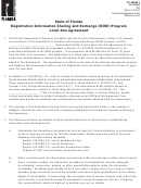 Form Gt-400211 - Registration Information Sharing And Exchange (rise) Program Level-two Agreement