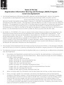 Form Gt-400210 - Registration Information Sharing And Exchange (rise) Program Level-one Agreement