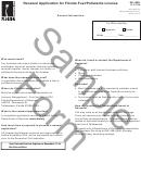 Form Dr-156r Draft - Renewal Application For Florida Fuel/pollutants License