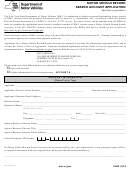 Form Mv-15d - Motor Vehicle Record Search Account Application