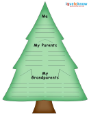 Fir Genealogy Tree Template