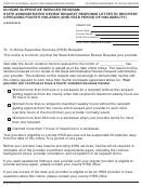 Form Soc 2291 - In-home Supportive Services Program State Administrative Review Request Response Letter To Recipient Upholding Fourth Violation