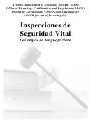 Form Lcr-1023a Forccs - Informe De Inspeccion De Seguridad De Vida