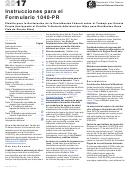 Instructions For Form 1040-prplanilla Para La Declaracion De La Contribucion Federal Sobre El Trabajo Por Cuenta Propia (incluyendo El Credito Tributario Adicional Por Hijos Para Residentes Bona Fide De Puerto Rico)