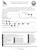 Home- And Community-based Services (hcbs) Waiver Application - California Department Of Health Care Services