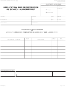 Form Pm 101 - Application For Registration As School Audiometrist - California Department Of Health Care Services