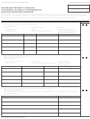 Form Fc 10 - Income And Property Checklist For Federal Eligibility Determiniation - Adoption Assistance Program