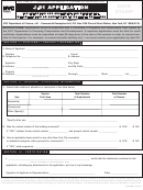Form J-51 - Application Tax Exemption And Abatement For Residential Rehabilitation Or Conversion To Multiple Dwellings