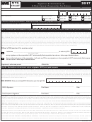 Form Nyc-579-gct - Signature Authorization For E-filed General Corporation Tax Return - 2017