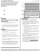 Form Cf 377.2c - Calfresh Notice Of Expiration Of Certification For Households With Only Elderly And/or Disabled Members