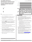 Form Cf 377.2b - Calfresh Notice Of Expiration Of Certification For Households With Only Elderly And/or Disabled Members