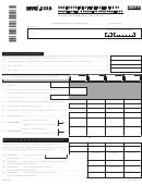 Form Nyc-222b - Underpayment Of Estimated Tax By Subchapter S Banking Corporations - 2017