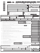 Form Nyc-1a - Combined Tax Return For Banking Corporations - 2017