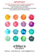 16 Colors Chart