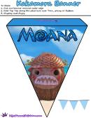 Moana Kakamora Banner Template