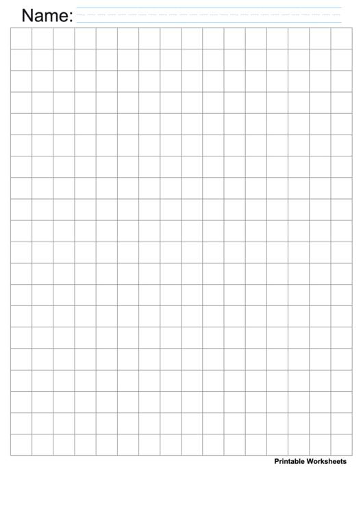 Gray Half Inch Graph Paper