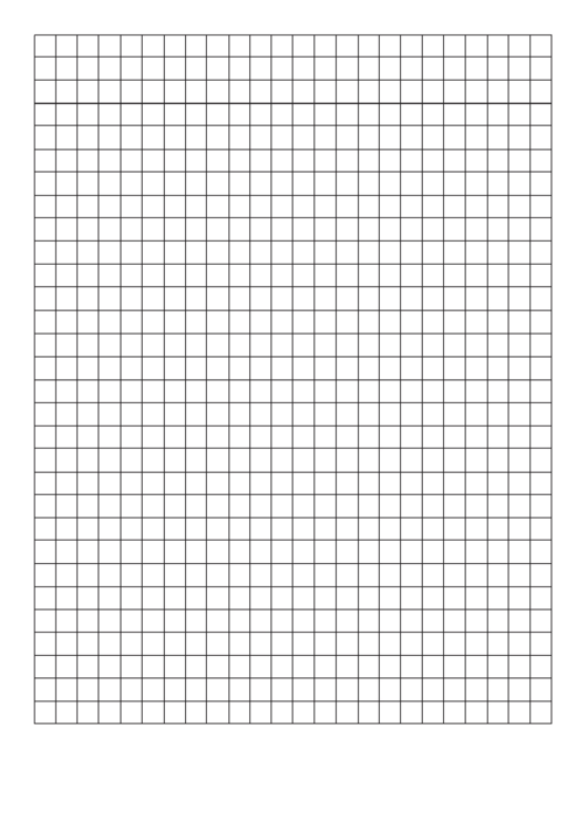 Graph Paper With Narrow Margins Printable pdf
