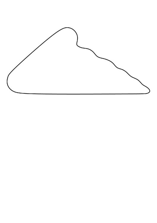 Pizza Slice Pattern Template Printable pdf
